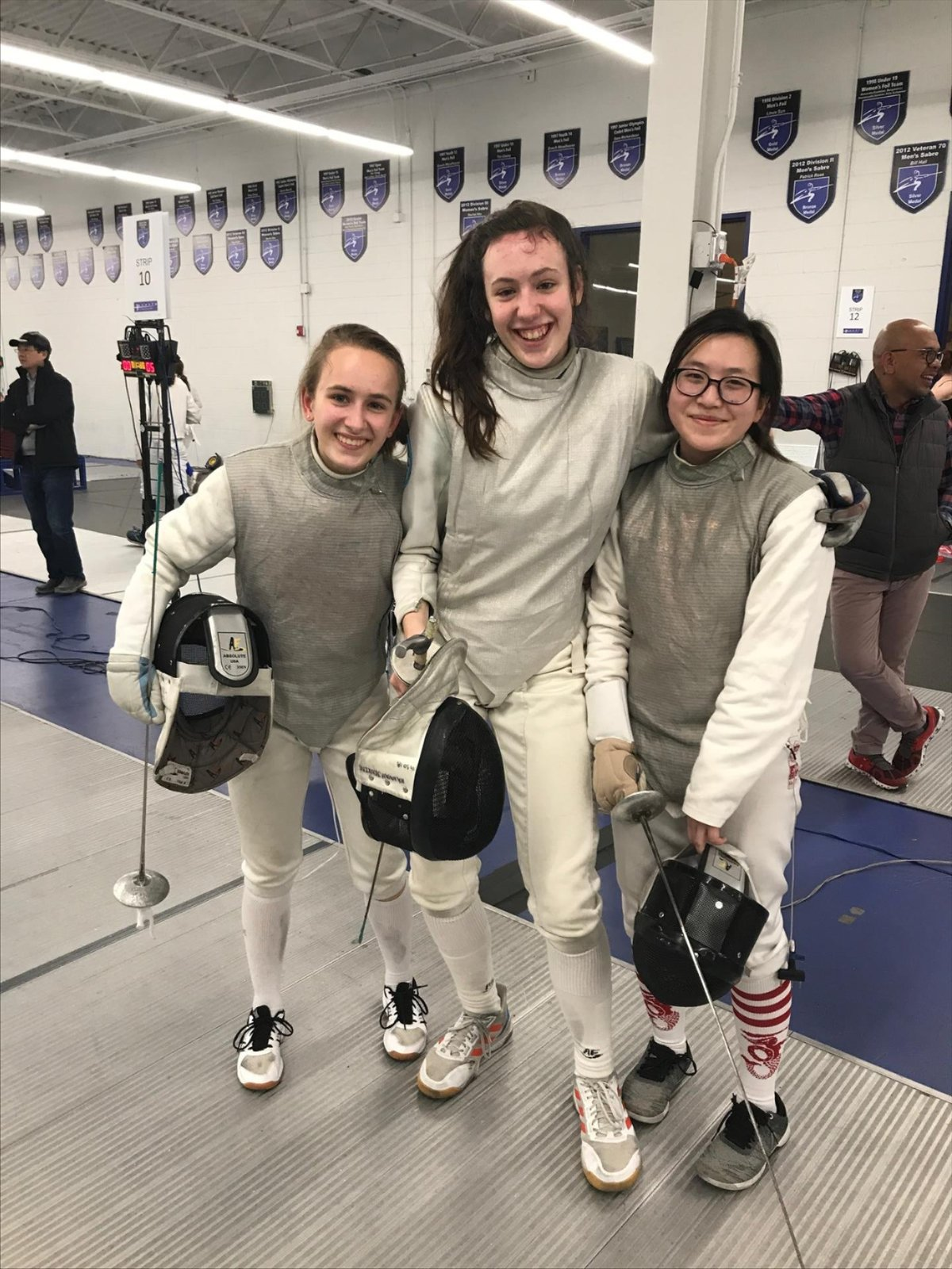 Women's Foil Wins Silver at State Championships