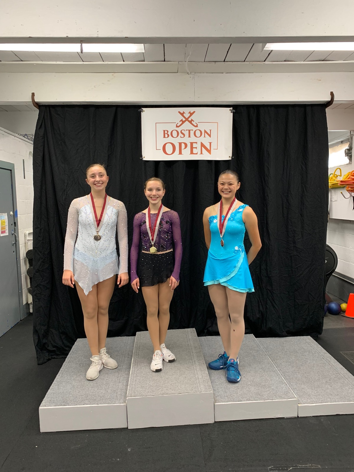 Figure skater Sophia Ying '22 wins Bronze medal at Boston Open