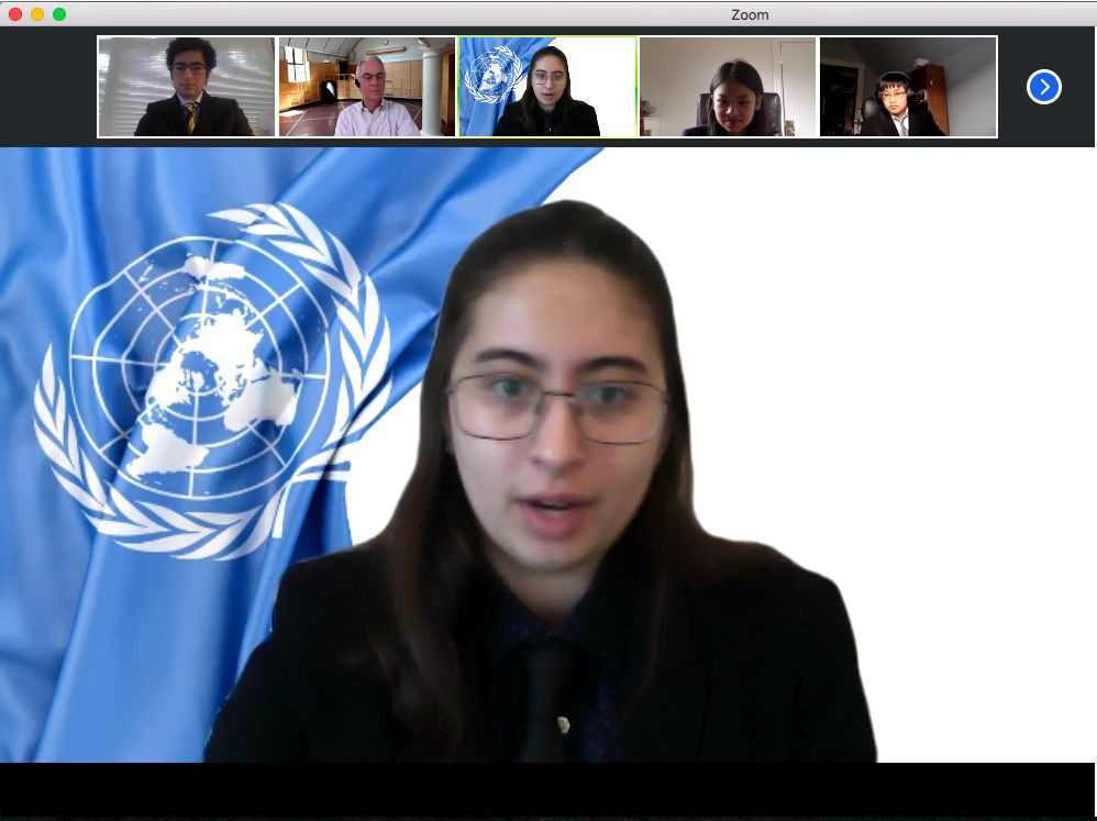 COMMUN Hosts Delegates Virtually for Model UN Conference